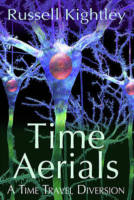 Digital Art - TIME AERIALS Book Cover by Russell Kightley