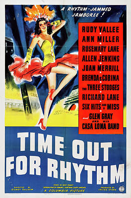 Royalty-Free and Rights-Managed Images - Time Out for Rhythm, 1941 by Stars on Art