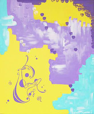 Painting - Timeline reset code by Noelie Ceyral