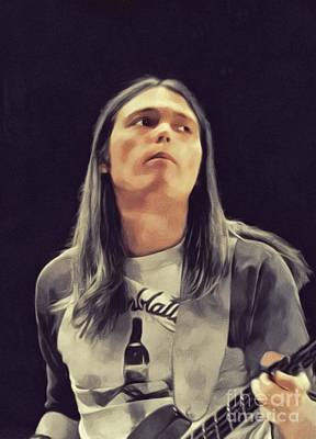 Music Paintings - Timothy B. Schmit, Music Legend by John Springfield
