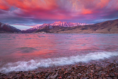 Royalty-Free and Rights-Managed Images - Timp Windy Wave Sunrise by Johnny Adolphson