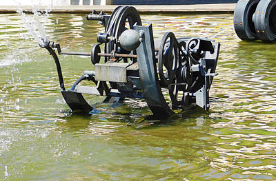 Ballerina Art - Tinguely Fountain2 Basel by Emmy Marie Vickers