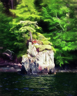 Anne Geddes Collection - Tiny Island Inside Passage Alaska by Bellesouth Studio
