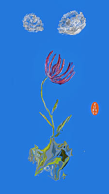 Kids Cartoons - Tiny red petals #j6 by Leif Sohlman
