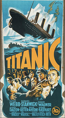 Halloween Movies - Titanic 1955 by Stars on Art