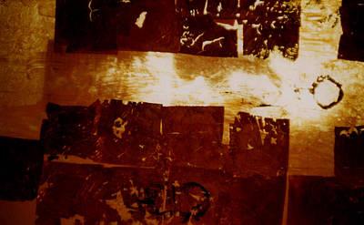 Painting - Title Light Gold V Oil by Todd Krasovetz by Todd Krasovetz