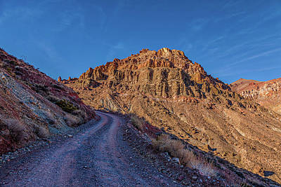 Caravaggio - Titus Canyon Trail by Peter Tellone