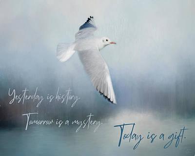 Katharine Hepburn - Today Is a Gift by Teresa Wilson