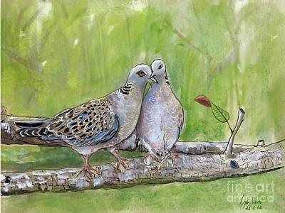 Painting - Together by Gita Vasa