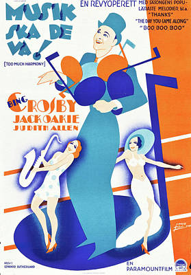 Royalty-Free and Rights-Managed Images - Too Much Harmony, 1933 by Stars on Art