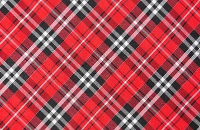 School Teaching - Top view of tartan cloth pattern on the table in restaurant by Julien