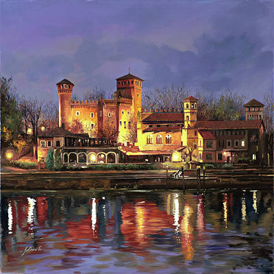 Royalty-Free and Rights-Managed Images - Torino il borgo medioevale by Guido Borelli