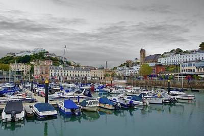 Royalty-Free and Rights-Managed Images - Torquay Marina, Torquay, Devon, England. by Joe Vella