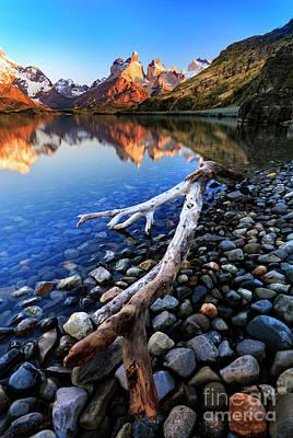 World War 2 Action Photography - Torres Del Paine 13 by Bernardo Galmarini