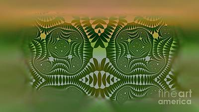 Digital Art - Totems in the Mist #2 by Mary Machare