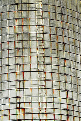 1920s Flapper Girl - Tower Silo Abstract by Debbie Oppermann