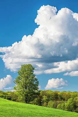 Unicorn Dust - Towering Cloud Landscape by Alan L Graham