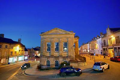 Purely Purple - Town Hall, Chipping Norton, Oxfordshire, England. by Joe Vella