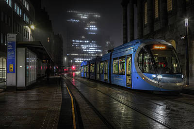 Not Your Everyday Rainbow - Town Hall Tram Stop by Chris Fletcher