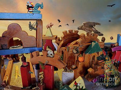 Surrealism Royalty Free Images - Toys In The Hippocampus Royalty-Free Image by Jury S Judge