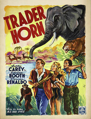 Royalty-Free and Rights-Managed Images - Trader Horn, 1931 by Stars on Art