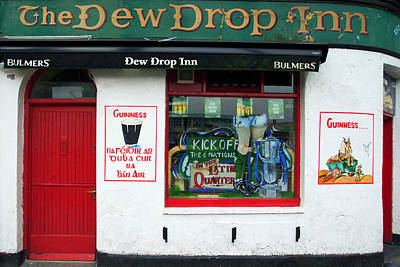 Photograph - Traditional Irish pub in Galway by Patrick Dinneen