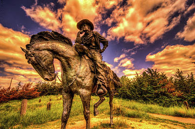 Advertising Archives - Trail Boss Statue on Boot Hill by James C Richardson