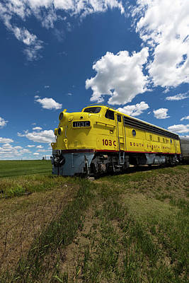 Latidude Image - Train to Nowhere by Aaron J Groen