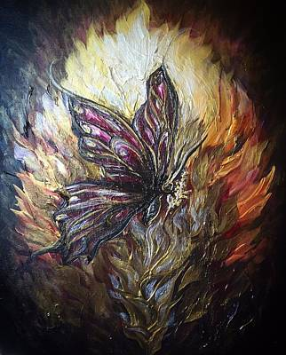 Painting - Transformation by Michelle Pier