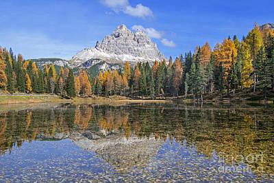 Claude Monet - Tre Cime di Lavaredo and Lago dAntorno in Autumn by Arterra Picture Library