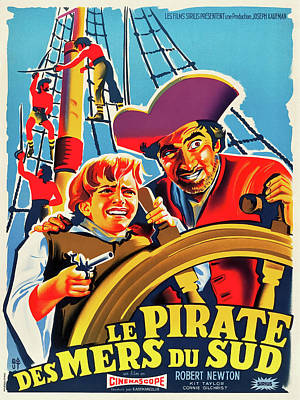 Royalty-Free and Rights-Managed Images - Treasure Island, 1950 by Stars on Art