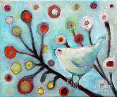 Painting - Tree Bird by Manami Lingerfelt