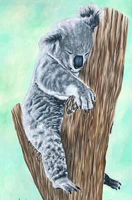 Painting - Tree Hugger by Jeleata Nicole