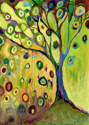 Abstract Shapes Janice Austin - Tree of Hope by Jennifer Lommers