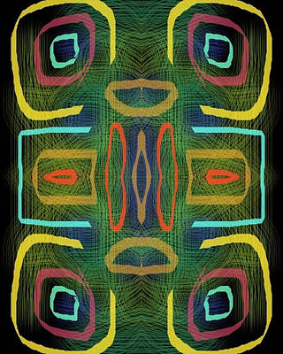 Abstract Royalty-Free and Rights-Managed Images - Tribal Vibal by Steve Swindells