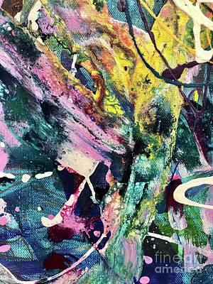 Modern Feathers Art - Trip 5 by D Palmer
