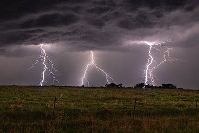 Photograph - Triple Strike by Willard Sharp