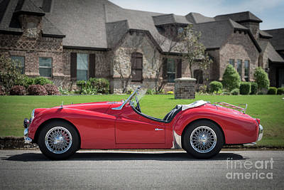 Royalty-Free and Rights-Managed Images - Triumph TR3 by Paul Quinn