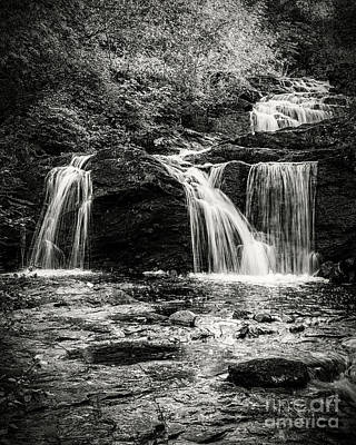 The Who - Trondheim Ilabekken Waterfall Mono by Antony McAulay