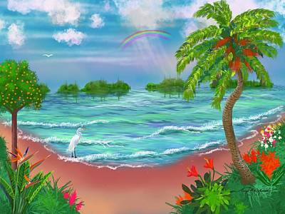 Fruits And Vegetables Still Life - Tropical Oasis by Gary F Richards