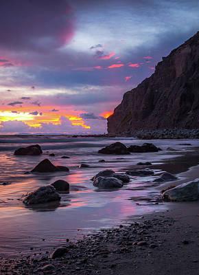 Photograph - Tropical Skies Cove Beach by Cliff Wassmann