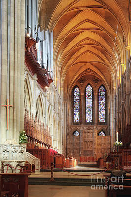 Keith Richards - Truro Cathedral High Altar and Choir by Terri Waters
