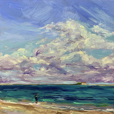 Painting - Try and Catch the Wind by Bart Levy
