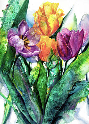Not Your Everyday Rainbow - Tulips II by Patricia Allingham Carlson