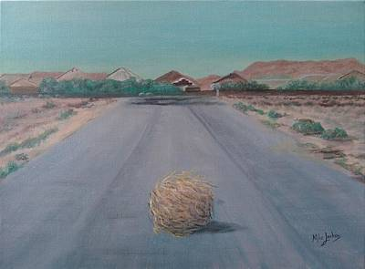 Painting - Tumbleweed by Mike Jenkins