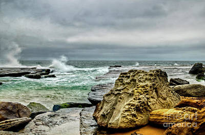 On Trend At The Pool - Turimetta Beach Sydney by Christopher Edmunds