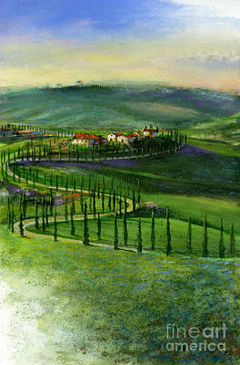 Royalty-Free and Rights-Managed Images - Tuscan Countryside by Andrew King
