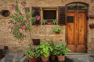 Audrey Hepburn - Tuscan Residence by Andrew Soundarajan