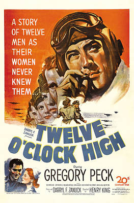 Royalty-Free and Rights-Managed Images - Twelve OClock High, 1949 by Stars on Art
