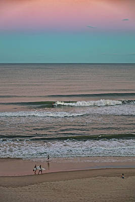 Royalty-Free and Rights-Managed Images - Twilight Surf by Az Jackson